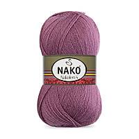Пряжа Nako Nakolen 5 569 фрез (нитки для вязания Нако Наколен 5) 49% шерсть - 51% премиум акрил