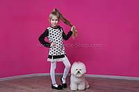 Платье-туника Baby Angel 605 Сердечки трикотаж девочка