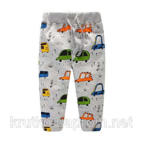 Штаны для мальчика Машинки Jumping Meters, фото 2
