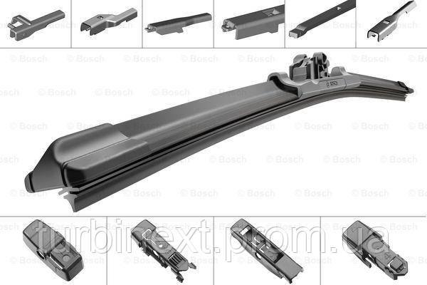Щетки стеклоочистителя комплект БЕСКАРКАСНЫЙ AEROTWIN PLUS MULTI-CLIP 750 BOSCH BO 3397006954