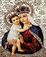Картина по номерам Икона Божией Матери