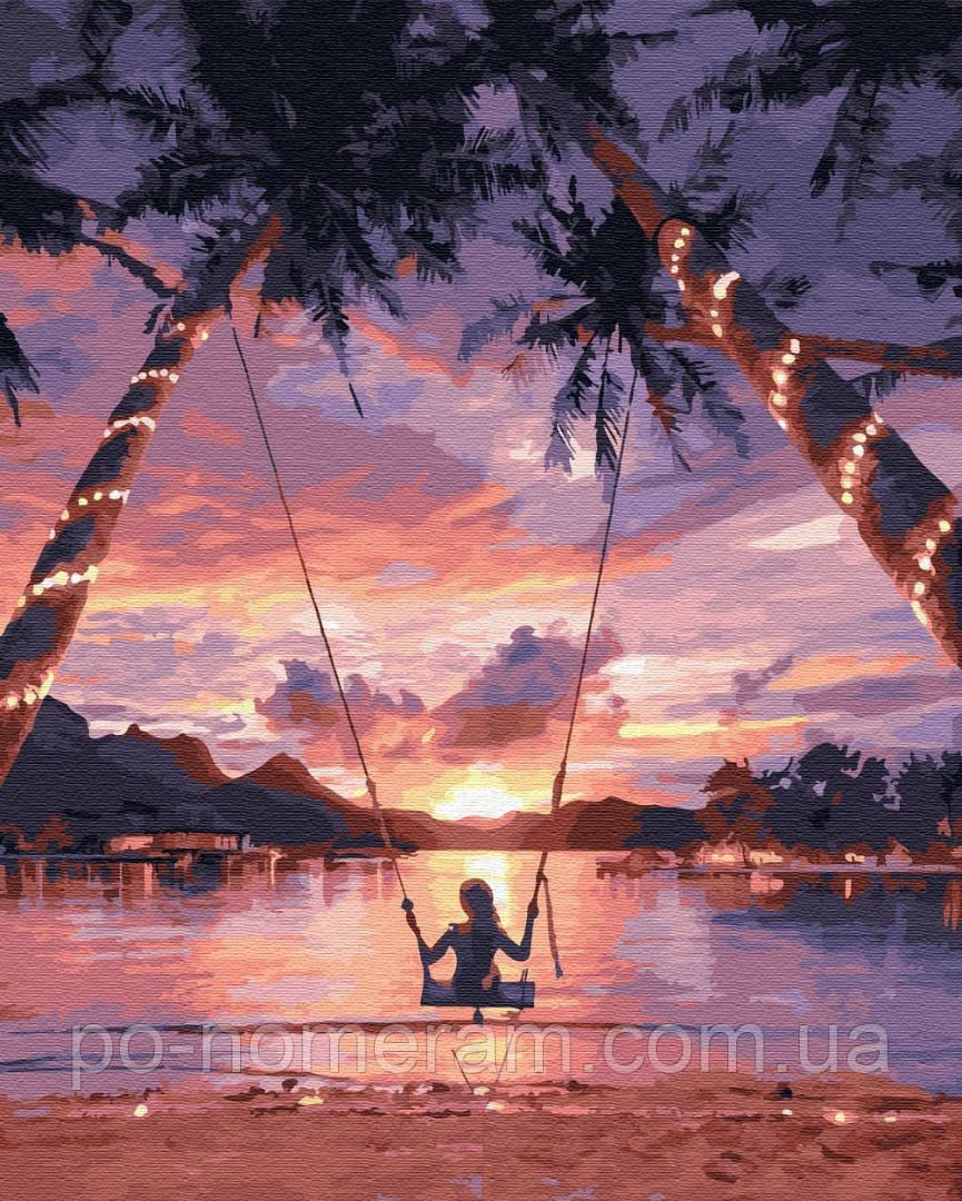 Рисование по номерам Райское наслаждение (PGX29710) 40 х 50 см Brushme Premium