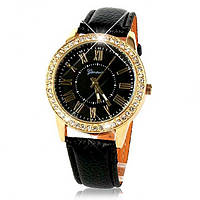 Женские часы Geneva Burberry black