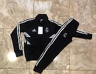 Спортивный костюм Adidas для мальчика. Черный, Красный. Турция