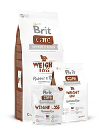 Корм Brit Care Weight Loss Rabbit & Rice   (для собак с лишним весом)