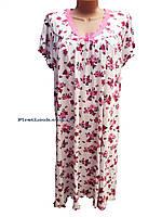 Женская ночная рубашка-сорочка с 52 по 60 размер, фото 1
