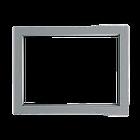 Металлопластиковое окно. Глухое, 1200х900, 3-камерный профиль, с энергосберегающим стеклом.