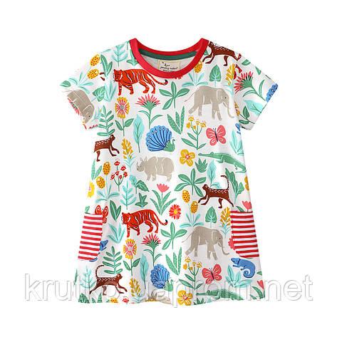 Платье для девочки Джунгли Jumping Meters, фото 2