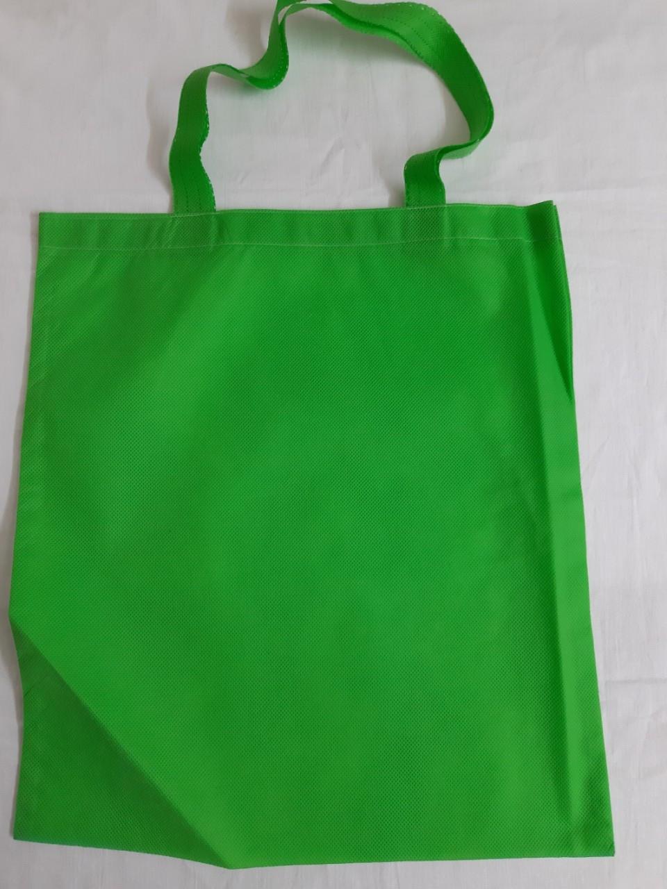 Эко-сумка из спанбонда с петлевыми ручками плоская 40*45 см Одетекс