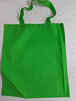 Эко-сумка из спанбонда с петлевыми ручками плоская 40*45 см Одетекс, фото 1