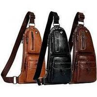 Мужская сумка Jeep бананка барсетка рюкзак через плечо разные модели