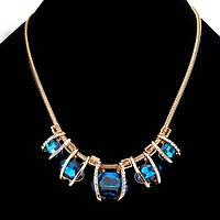 """Колье """"Cartier Lantan"""" позолоченное с кристаллами swarovski"""