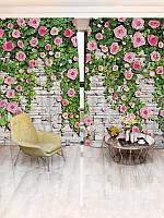 Фотошторы цветы (26450_1_1)