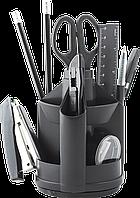 Набор настольный 13 предметов черный BM.6300-01 Buromax