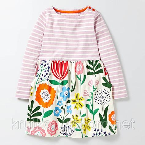 Платье для девочки Цветы Jumping Meters, фото 2
