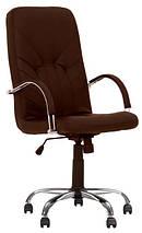 Кресло для руководителей MANAGER steel Tilt AL68 с механизмом качания, фото 3
