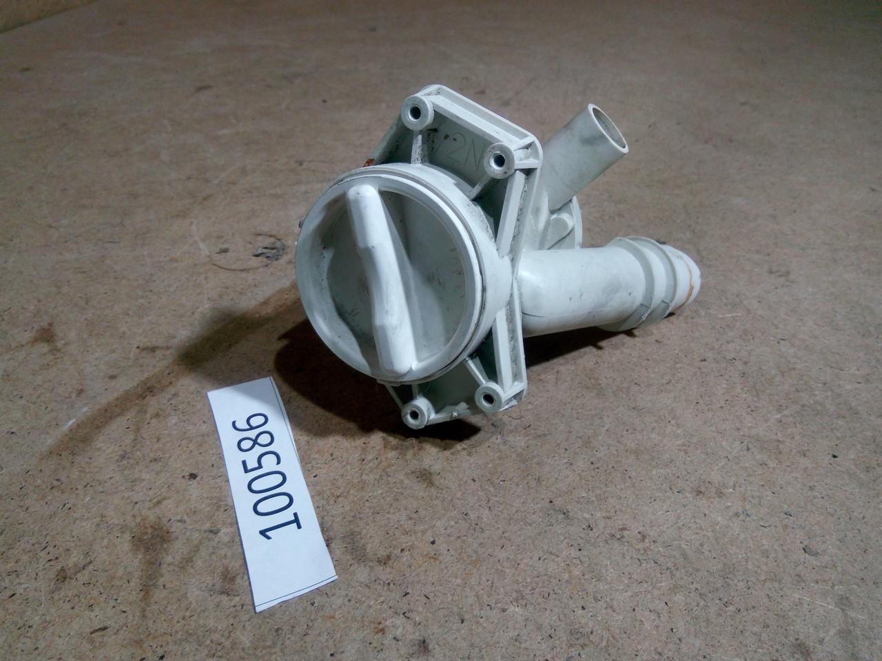 Корпус фільтра насоса з пробкою CANDY CSNL085. 92132091 Б/У
