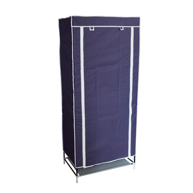 Портативный шкаф-органайзер (1 секция), синий