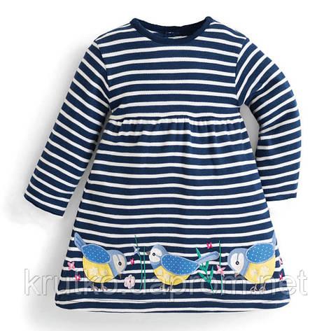 Платье для девочки Синичка Jumping Meters, фото 2