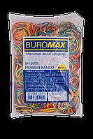 Резинки для денег 1000г, JOBMAX, ассорти  Buromax (импорт)