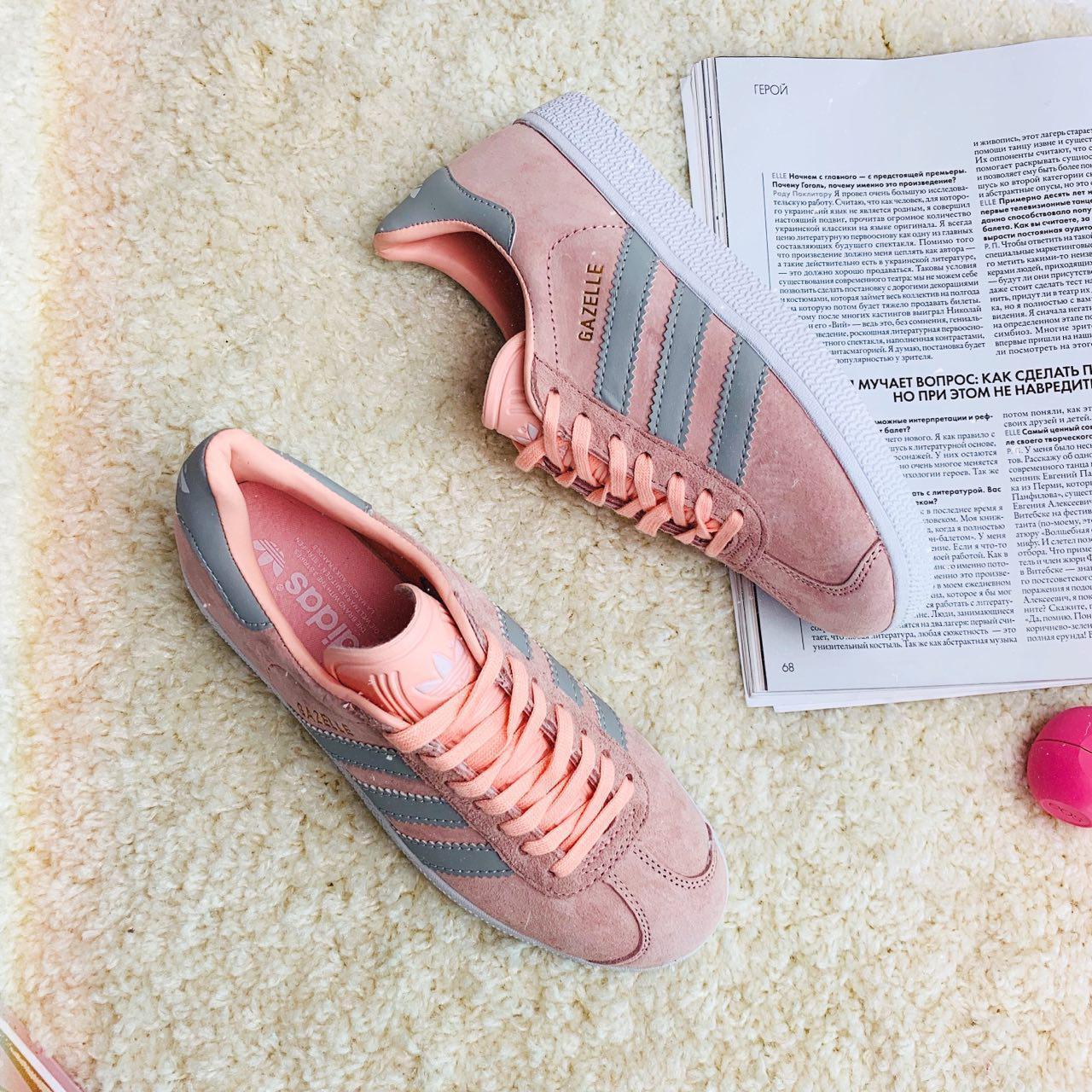 Кроссовки женские Adidas Gazele (реплика) 30880 ⏩ [ 36 ]