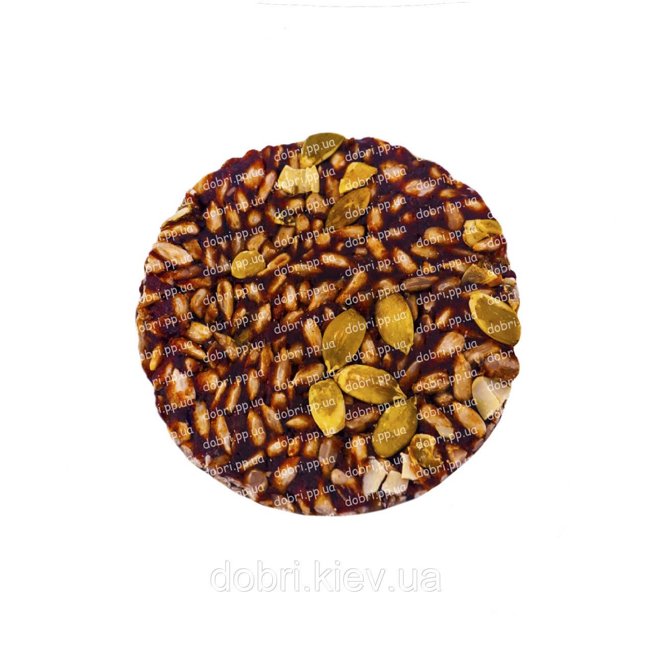 Козинаки с семечками подсолнечника и тыквы (100гр)