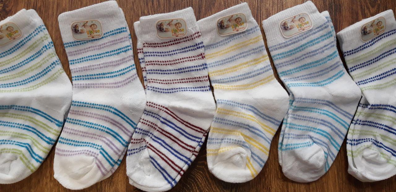 """Шкарпетки дитячі """"Glanse"""" Туреччина для немовлят 1 рік"""