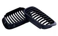 Решетка решетки решотка радиатора ноздри матовые для BMW E46 бмв е46