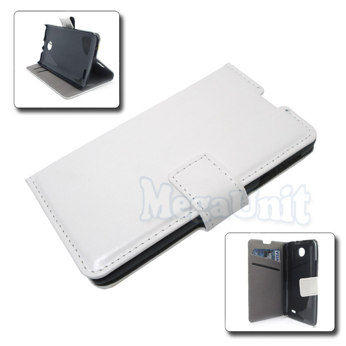 Чехол-книжка Book Cover для Lenovo A820 Белый