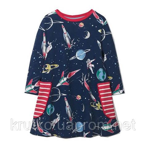 Платье для девочки Космос Jumping Meters, фото 2