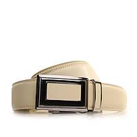 Ремень Alon кожаный бежевый L35A1A22 105-115 см