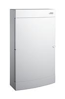 Модульный щиток, 3*18 модулей, 3 ряда, IP40, PNS 3*18W, белая дверца