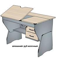 """Детский письменный стол """"ТСУ - 20"""" 1050 мм, регулируемый"""