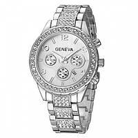 Женские часы Dior Geneva silver