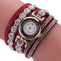 Женские часы Versace red
