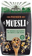 Мюсли Crownfield Premium Musli 750 g