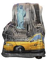 Плед флисовый Cool  150х200 Yellow Taxi