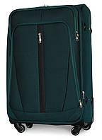 Чемодан Fly 1706 большой 74х48х30 см 88л текстиль на 4 колесах Зеленый