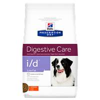 Hill's Prescription Diet i/d Digestive Care Low Fat для профилактики заболеваний ЖКТ и снижения веса,1.5 кг