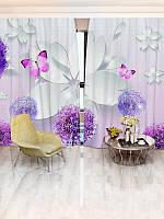 Фотошторы цветы (30600_1_1)