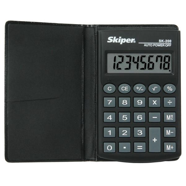 Калькулятор Skiper кишеньковий 8 розрядів