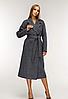 Жіноче демісезонне пальто видовжене, з 44-54 розмір