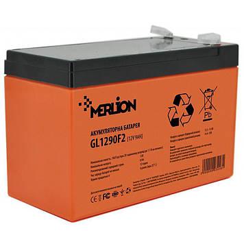 Аккумуляторная батарея MERLION GL1290F2 12 V 9 Ah (GL1290F2 GEL)