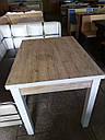 Стол обеденный Марсель 90(+35+35)*70  орех - Шервуд, фото 3