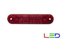 Габаритный фонарь светодиодный Красный 24v 6LED FR