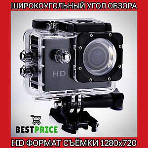 Видеокамера Экшн камера Action Camera D600 с боксом и креплениями