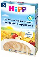 Молочная органическая каша «Пшеничная с фруктами» HiPP хипп hipp