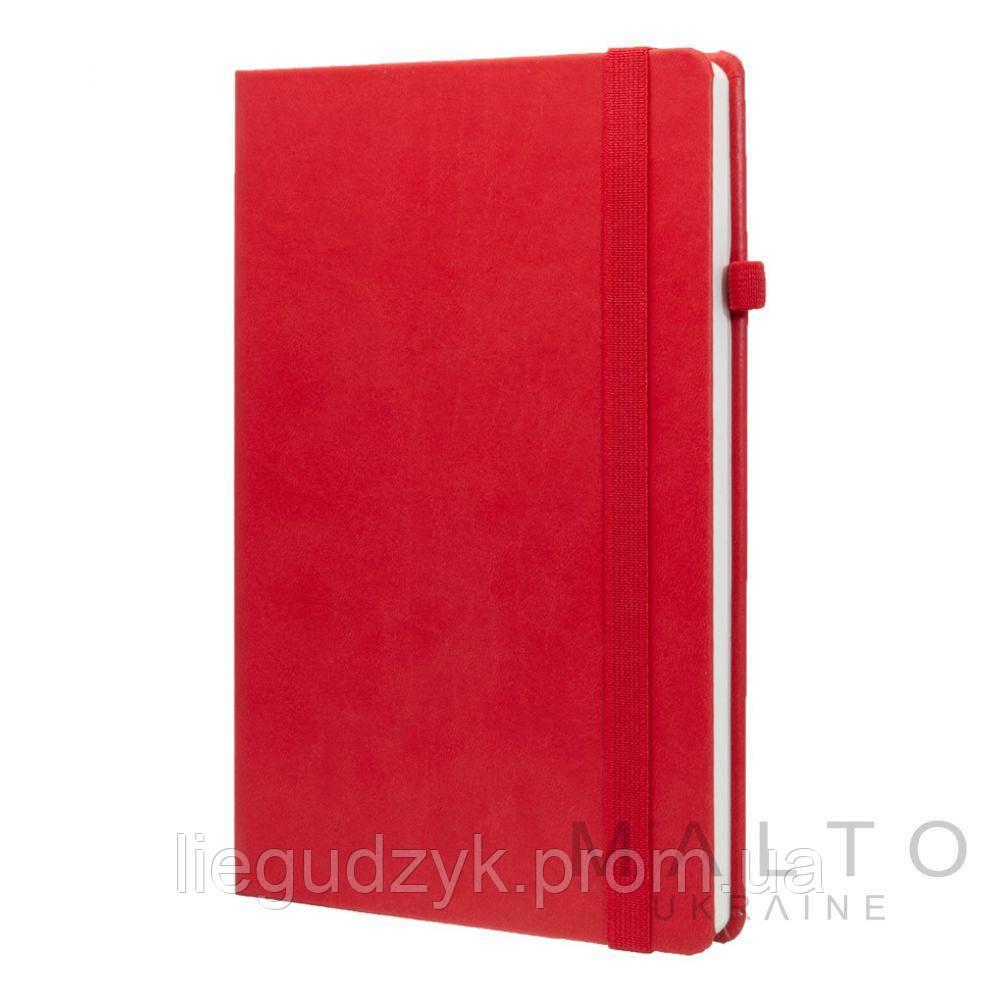 Книга для записів 135*210 мм.VIVA RED