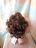 Шиньон-накладка на гребешках удлиненная светло-каштановая 902А-31, фото 2