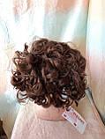 Шиньон-накладка на гребешках удлиненная светло-каштановая 902А-31, фото 3